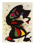 1art1 38847 Joan Miró - Aufrechte Figur Poster Kunstdruck 100 x 70 cm
