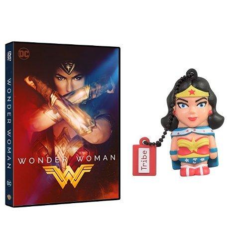 Wonder Woman (DVD) + Chiavetta Tribe DC Comics Wonder Woman USB Stick 8GB