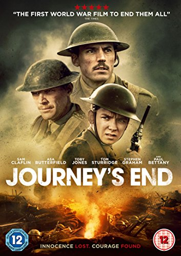 Journey's End [DVD] [2018]