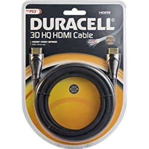 PlayStation 3 – Duracell 3D HDMI Cable