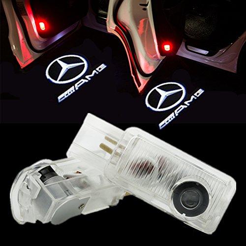 HUAYIN Auto portiera Logo luce LED Proiettori Sottoporta Luce Del Portello di Automobile (R-AMG)