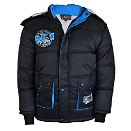 9631f51cf03f A2Z 4 Kids® Boys Jacket Kids Designer s Foam Padded Hooded Puffa ...