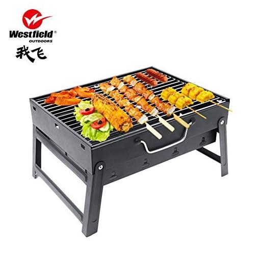 barbecue griglie da campeggio portatile bbq carbone