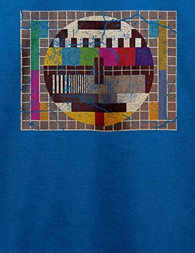 Testbild Vintage T-Shirt Royal Blau