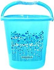 Nayasa Plastic Bathroom Bucket For Home 20 Litre Set Of 1