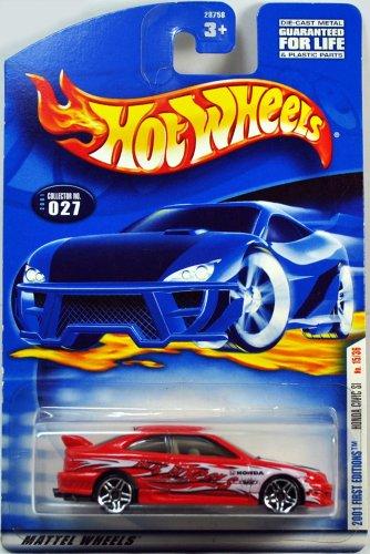 Hot Wheels 2001-027 Honda Civic SI First Edition 15/36 PR5 Wheels 1:64 Scale by Hot Wheels