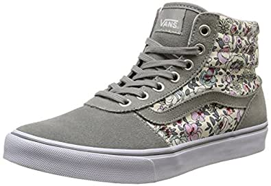 vans milton hi damen sneaker schuhe handtaschen. Black Bedroom Furniture Sets. Home Design Ideas