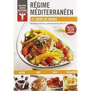 Régime méditerranéen : 21 jours de menus