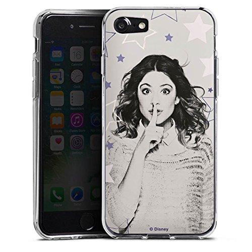 Apple iPhone X Silikon Hülle Case Schutzhülle Disney Violetta Merchandise Fanartikel Silikon Case transparent