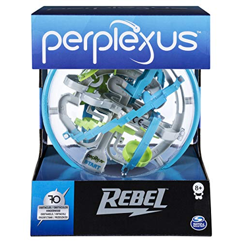Spin Master Games 6053147 Perplexus Rebel, 3D-Labyrinth mit 70 Hindernissen, Multicolour