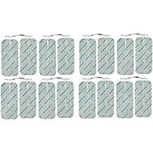 Grande TENS Almohadillas 16TENS Electrodos Para Máquinas de TPN, Lloyds, TensCare, Neurotrac–, etc.