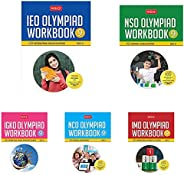 MTG - Class 9(2020-21) - Olympiad Book Set - Eng./Sci./Maths/Cyber/GK/Reasoning (Set of 6 books)(New Edition)