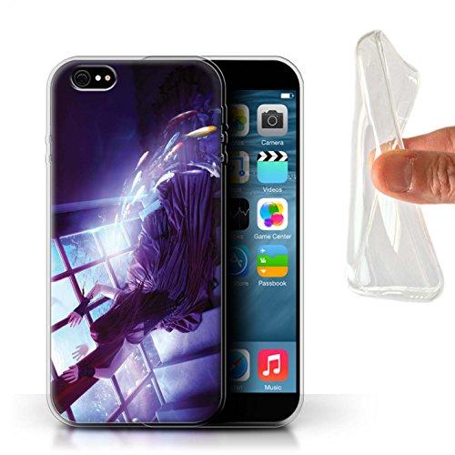 Officiel Elena Dudina Coque / Etui Gel TPU pour Apple iPhone 6S+/Plus / Sous-Marin Design / Agua de Vida Collection Laisse Moi Entrer
