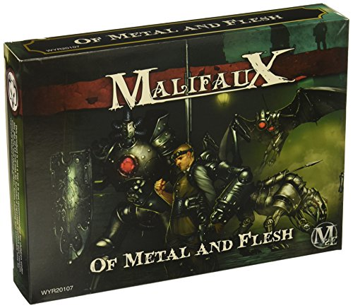 Wurd Miniaturen Malifaux Guild Hoffman Box Set Model Kit Hoffman-box