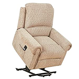 Tetbury electric Riser Recliner / Lift and Tilt rise mobility Chair - Deluxe Beige Fabric