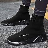 JJLESUNN Baskets Femme Sport Chaussure Course pour Homme Femme Unisexe Respirant Mesh Haut-Haut Chaussette Sneakers Outdoors Jogging Formateurs