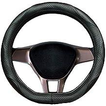 Auto lenkradabdeckung, piel auténtica, para Tiguan, Nueva Tiguan All Pace, Touareg,