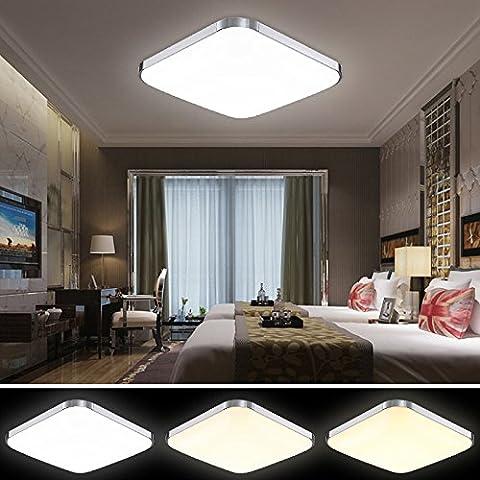 HG® 36W 3in1 LED Deckenleuchte Esszimmer Lampe Garderobe Farbwechselfunktion 176V-264V