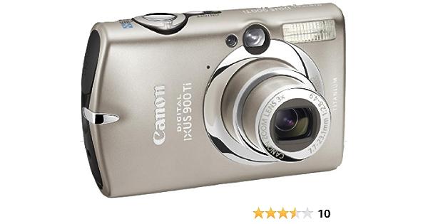 Canon Digital Ixus 900 Ti Digitalkamera 10 Mp Titan
