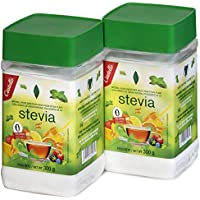 Castelló Since 1907 Edulcorante Stevia 1:8 - Paquete de 2 x 300 gr -