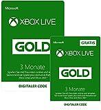 Xbox Live Gold Mitgliedschaft 3 Monate + 3 Monate GRATIS [Xbox Live Download Code]