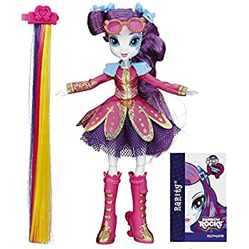 My Little Pony Equestria Girls Rainbow Rocks Rarity Rockin - Rockin hairstyles dolls