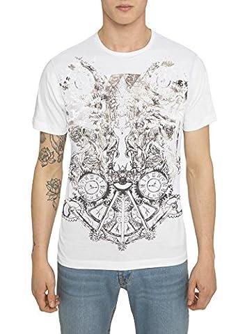 Tee Shirt Mode Homme Noir Blanc - T Shirts Designer