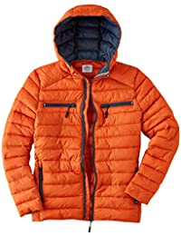Joe Browns Mens Casual Zip Up Padded Jacket With Hood