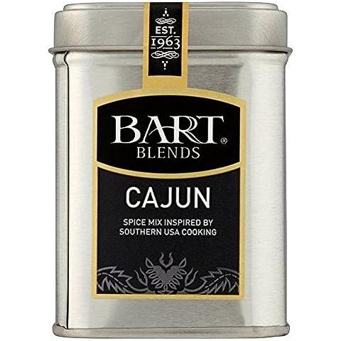 Bart Miscele Condimento Cajun Latta 65g (Confezione da 6)