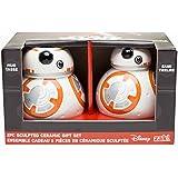 Star Wars: El despertar de la fuerza BB-8esculpido de cerámica Set de regalo: taza y banco