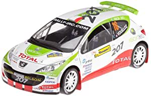 Solido - 421514920 - Véhicule Miniature - Racing 18 - Limited Edition - Peugeot 207 S 2000 Ref : 118007 00