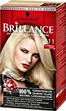 2x Schwarzkopf Brillance Haarfarbe 811 Scandinavia Blond (811) / brillanter Glanz / Farbfrische / Perfekte Grauhaarabdeckung / Coloration / Haarfarbe