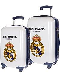 Real Madrid Rm 1902 Kindergepäck, 67 cm, 86 liters, Weiß (Blanco)