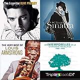 De Frank Sinatra à Edith Piaf et Jacques Brel, une sélection de 100 titres majeurs des années 50.