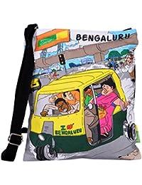 Eco Corner Women's Sling Bag (Multi-Coloured, 3032)