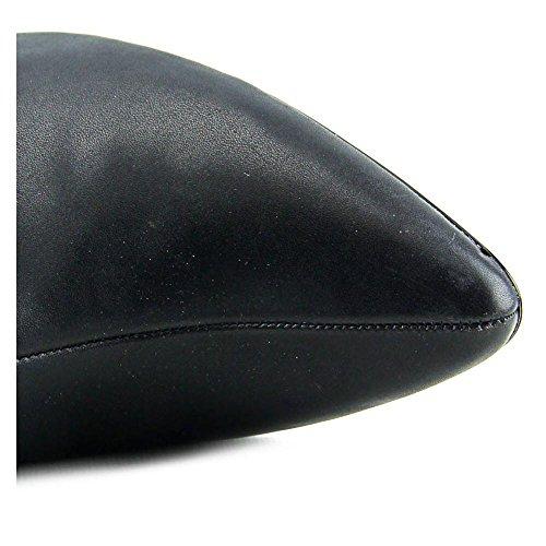 Calvin Klein Julietta Kansas Cuir Botte Black