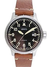 71de63a0c9c Aristo Men s Watch Watch Vintage Aviator Automatic 7H102