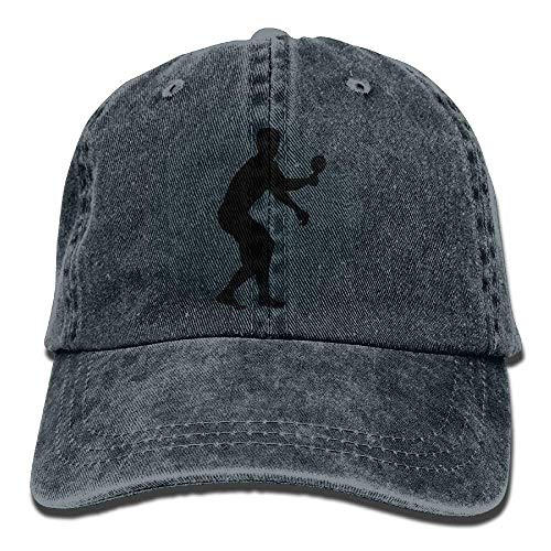 half off 5c96e 0e9d3 Bgejkos Ping Pong Cowboy Sports Hat Rear Cap Adjustable Cap ABCDE08694