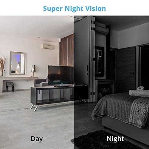 Telecamera Sorveglianza Wifi 1080P Camera IP Lensoul Videocamera Sorveglianza Interni con Audio Bidirezionale,Night Vision,Sensore di Movimento,Archiviazione in Cloud,YI IoT App - 6