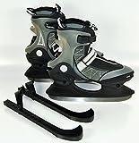 Schlittschuhe Schlitt Schuhe Eishockey Eislaufen Schlittschuh Kufenschützer Aufbewahrungstasche (42)