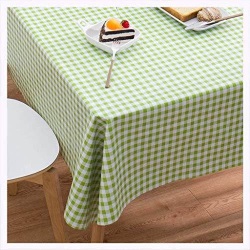 MWPO Tovaglia Tovaglia PVC Moderno Minimalista da Giardino Impermeabile e Resistente allolio Tavolino da caffè Tovaglia Rettangolare tovaglia