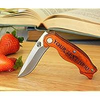 Cuchillo personalizado, cuchillo grabado, cuchillo personalizado, cuchillo de bolsillo, regalo de padrino de boda, cuchillo plegable, cuchillos grabados, cuchillos personalizados