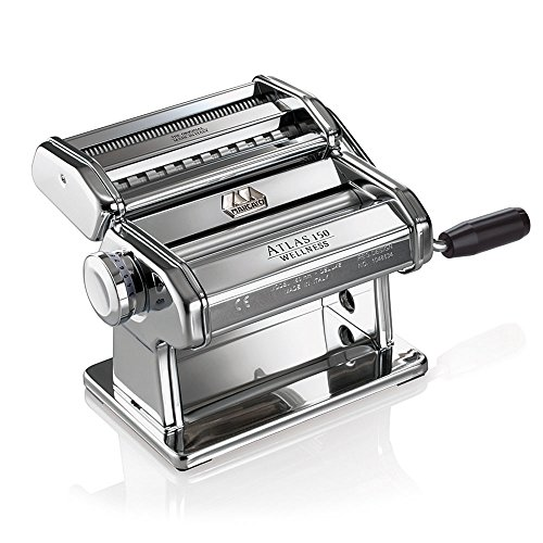 Marcato Atlas 150 pasta machine Chrome, Silver Wellness