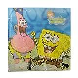 Partyservietten Servietten Spongebob 16Stück