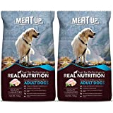 Meat Up Adult Dog Food, 10 kg (Buy 1 Get 1 Free)