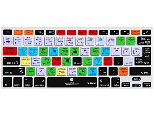 Xskn Macbook Shortcuts Design Series Adobe Hotkey Macbook Hot Keys Silicone Laptop Keyboard Skin Cover For Macbook 13 Macbook 13 15 17