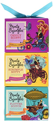 Monty Bojangles Cocoa Dusted Truffle Gift Stack 300g