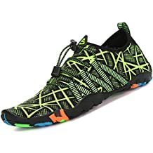 Saguaro Skin Shoes Descalzo acuático Aqua Calcetines para de Nadada de la Playa de la Resaca