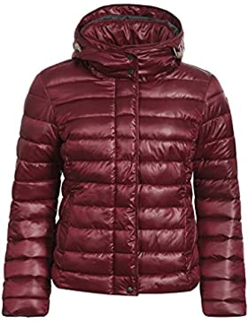 ICEPEAK Tulia–Chaqueta de invierno para mujer, col. 990/Negro, color burdeos, tamaño 34