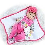 LLX Reborn Baby Doll Realistische Simulation Babys Puppen 15 Zoll 40 cm Lebensechte Spielzeug Kinder Geburtstagsgeschenk,A
